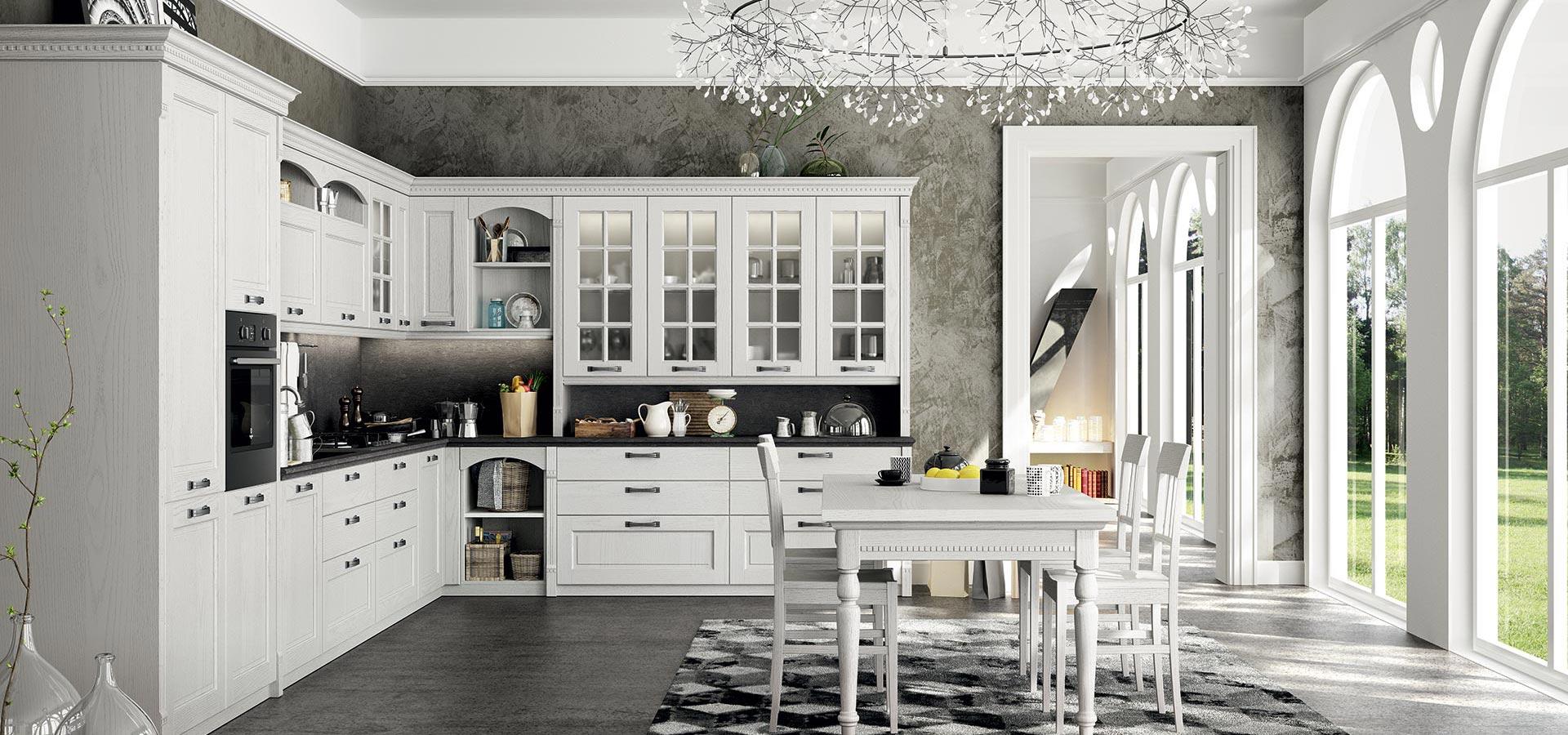 Cucine classiche a treviso cucine con isola penisola o - Cucine classiche con isola ...