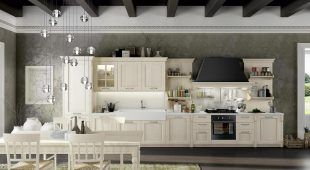 Cucina country classica Arredo 3 Virginia