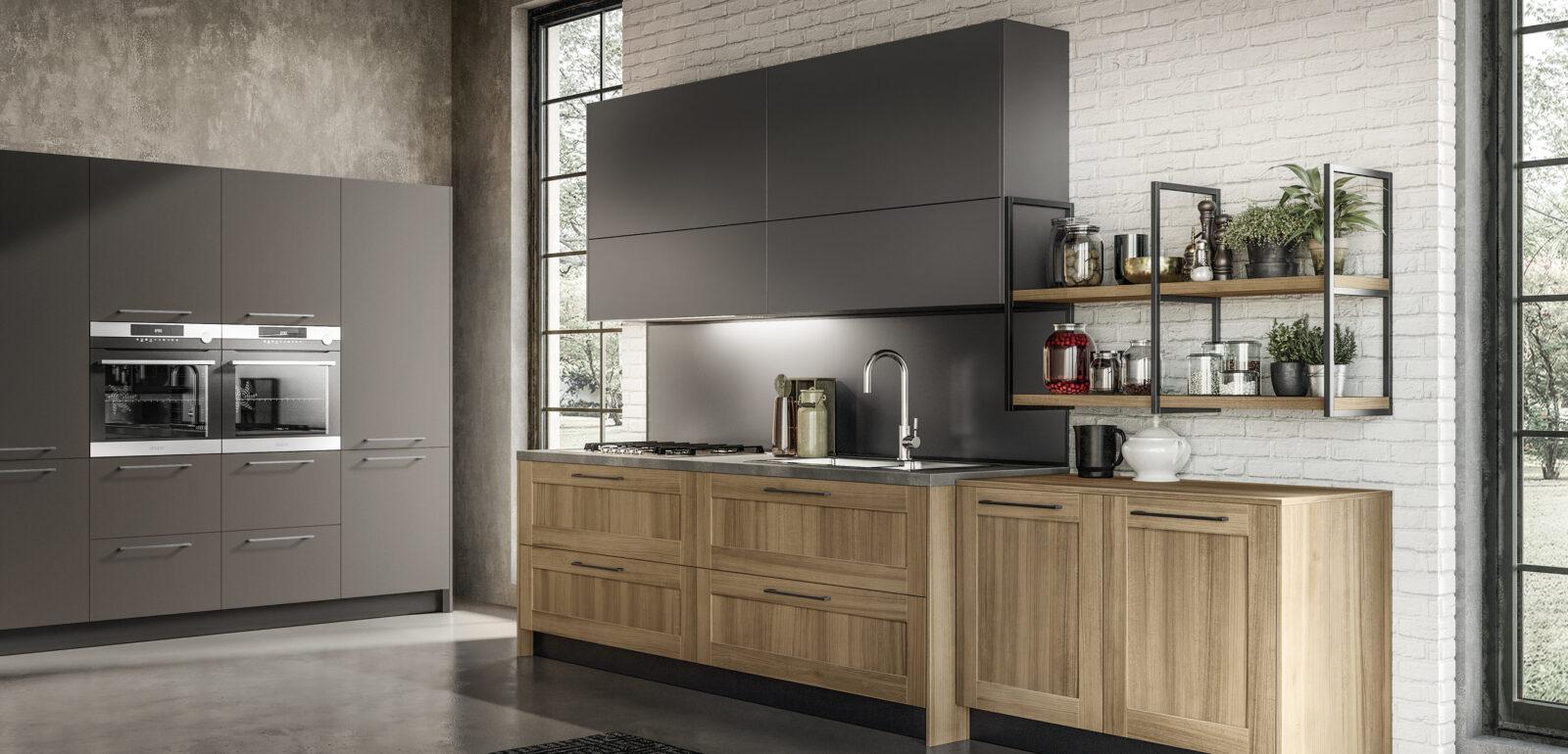 cucina moderna lineare Arredo3 Cloe foto 2