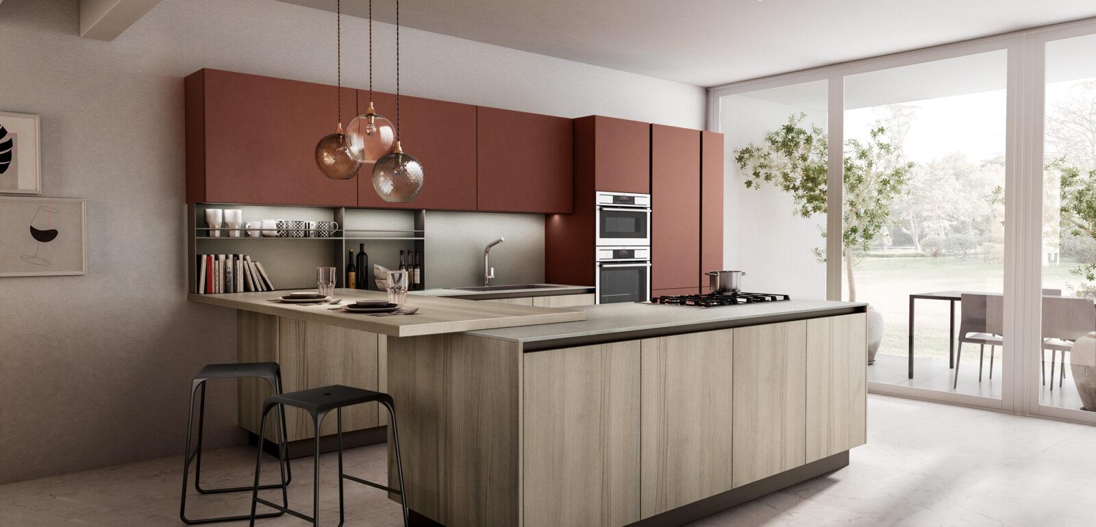 cucina moderna lineare Arredo3 Cloe foto 6