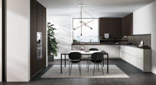 cucina moderna con penisola Arredo3 Glass 2.0 foto 05