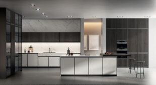 cucina moderna con isola Arredo3 Kronos foto 01