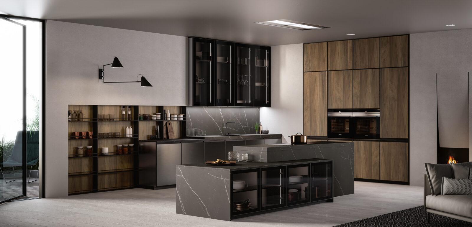 cucina moderna con isola Arredo3 Kronos foto 05