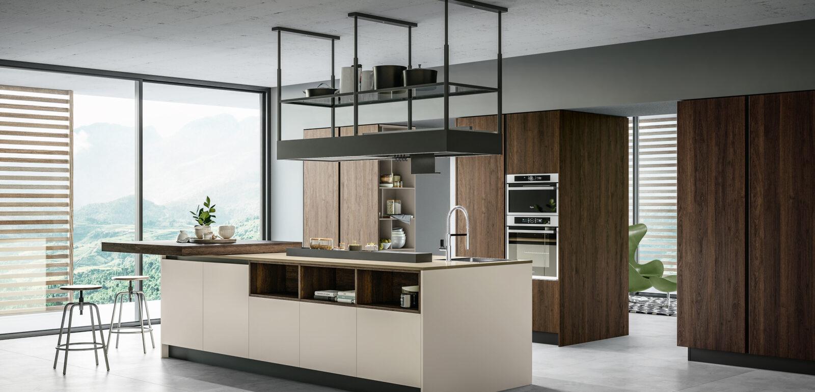cucina moderna con isola Arredo3 Round foto 01