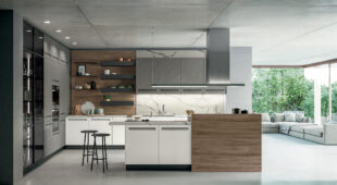 cucina moderna con isola Arredo3 Tekna foto 01