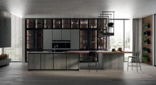 cucina moderna con isola Arredo3 Kronos foto 06