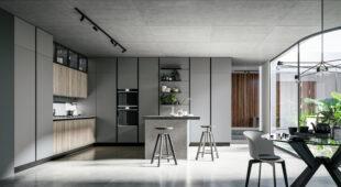 cucina moderna con isola Arredo3 Round foto 04