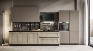cucina moderna lineare Arredo3 Cloe foto 1