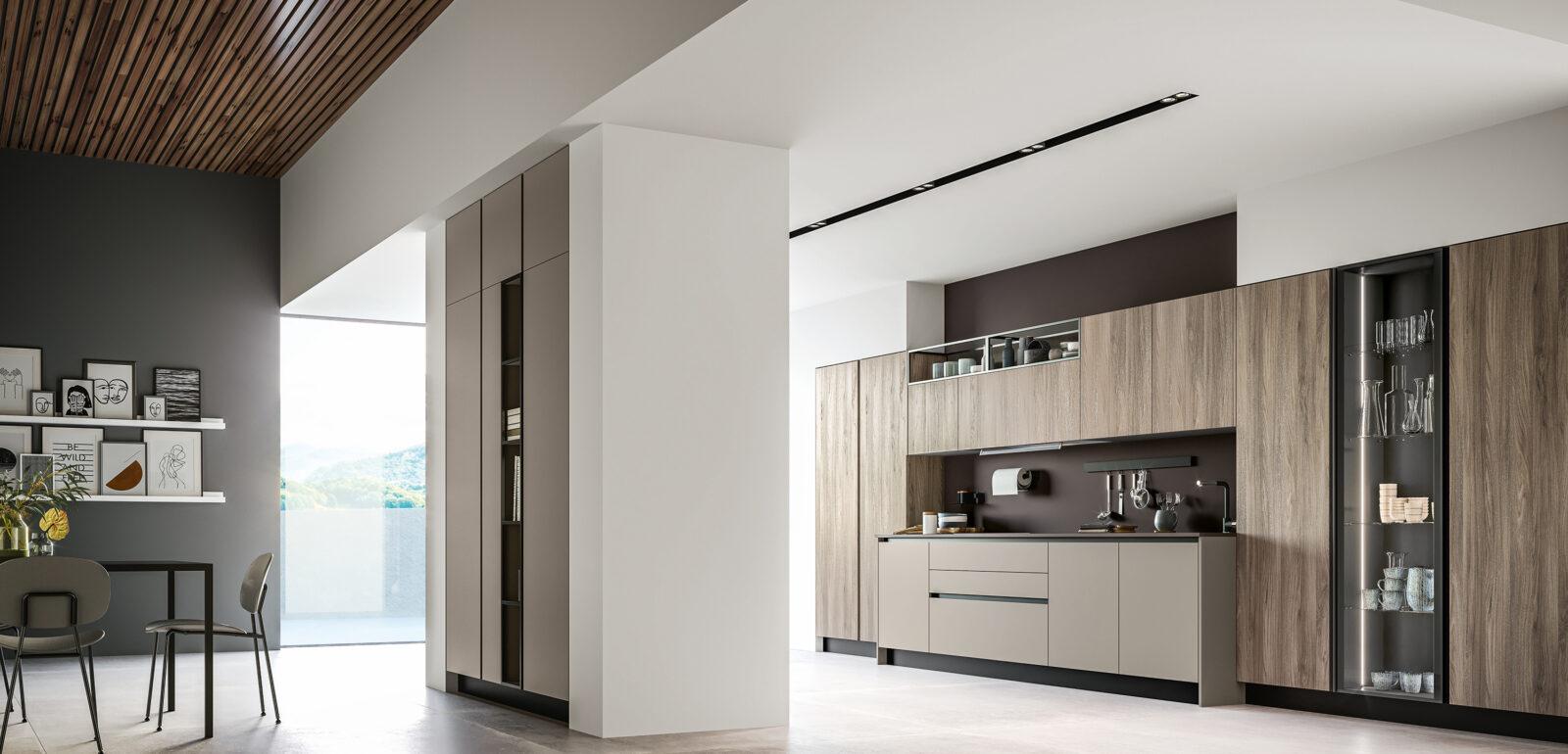 cucina moderna con isola Arredo3 Round foto 02