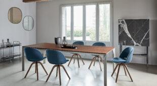 tavolo con piano in legno Bontempi Mirage