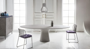 tavolo in cemento Bontempi Podium