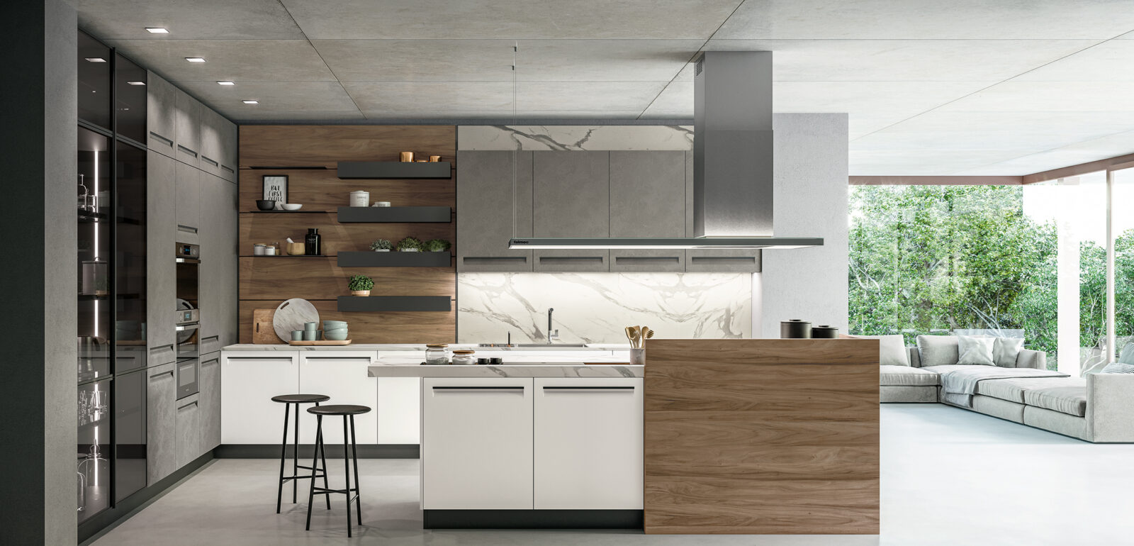 arredamento moderno a Treviso - cucina Arredo3